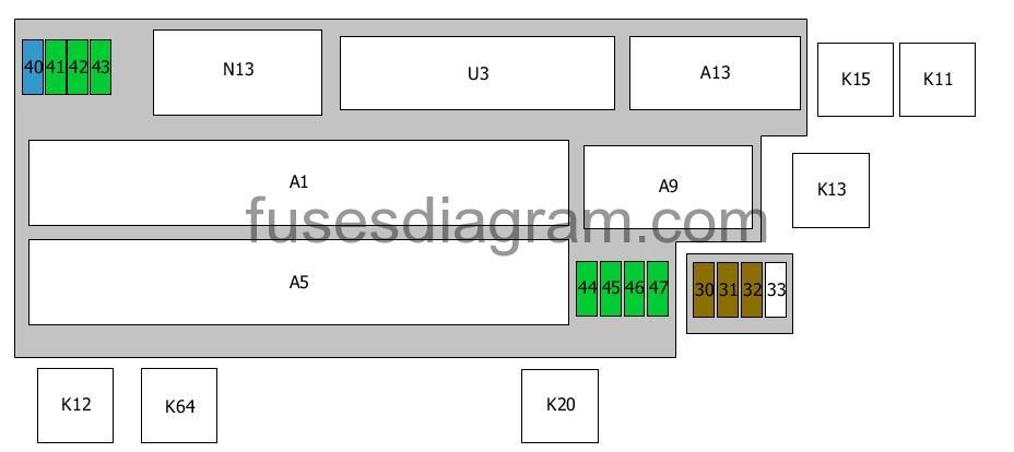 Fuse Box Diagram Bmw 5 E34