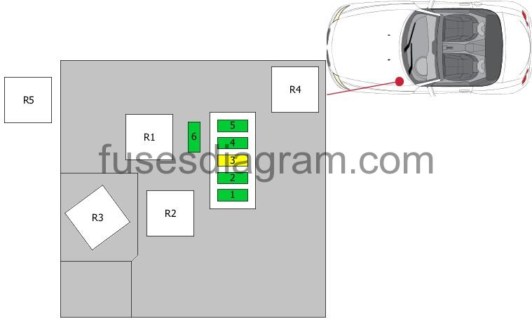 Fuse Box Diagram Bmw Z4 E85  E86
