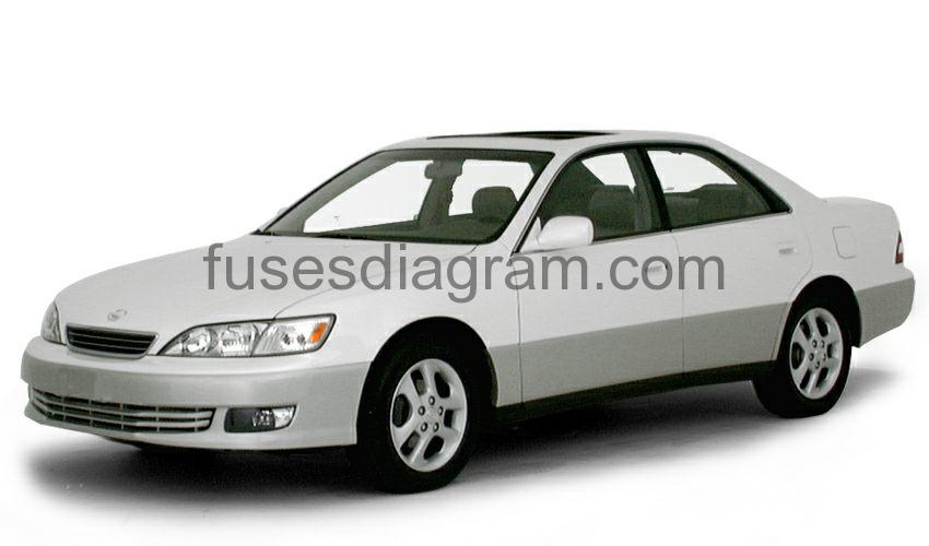 Fuse box diagram Lexus ES300 1997-2001 | 1998 Lexus Es 300 Fuse Box |  | Fuses box diagram